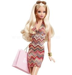 Barbie loves to change her look, and the Barbie Look collection delivers affordable fashion play for the adult collector by providing dolls, fashions and accessories with realistic details. Description from ebay.com. I searched for this on bing.com/images