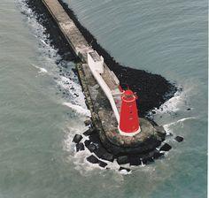 Poolbeg #Lighthouse - Dublin Port, #Ireland http://dennisharper.lnf.com/