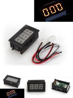 [Visit to Buy] CNIM Hot Digital LED Ampere Meter AMP Panel Meter Ammeter DC 0 - 10A Gelb Neu #Advertisement