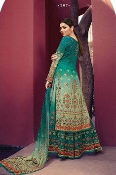 Palazzo With Kurti, Palazzo Suit, Drashti Dhami, Teal Blue Color, Eid Outfits, Eid Special, Festival Wear, Party Wear, Designer Dresses