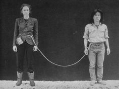 Tehching Hsieh and Linda Montano spent one year tied to each other with an 8-foot-long (2.4 m) rope from 1983-1984. They had to stay in...