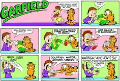 Garfield | Daily Comic Strip on November 9th, 1986