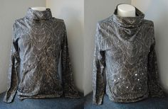 digitally printed patterned shirt with LED e-textiles – Dustin Maberry