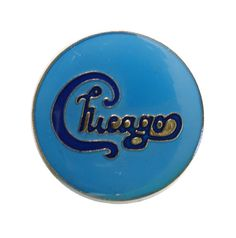 "CHiCAGO vintage enamel pin piback lapel badge 1980s pop rock tour concert memorabilia by VintageTrafficUSA  24.00 USD  A vintage Chicago pin! Used but excellent condition. Measures: approx 1"" 20 years old hard to find vintage high-quality cloisonne lapel/pin. Beautiful die struck metal pin with colored glass enamel filling. Add inspiration to your handbag tie jacket backpack hat or wall. Have some individuality = some flair! -------------------------------------------- SECOND ITEM SHIPS FREE…"