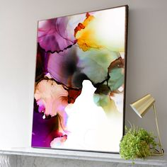 Sage & Merlot Fine Art Print, Contemporary Abstract Canvas for Home Decor, Oversized Painting Alcohol Ink Crafts, Alcohol Ink Painting, Alcohol Ink Art, Oil Painting Abstract, Abstract Canvas, Watercolor Art, Painting Art, Canvas Wall Art, Pintura Industrial
