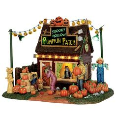 Lemax® Spooky Town® Collection Spooky Hollow Pumpkin Patch