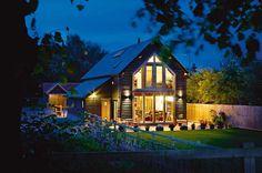 A Barn-style Village Home | Homebuilding & Renovating