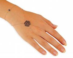 Baciamano Kurshuni Hand Bracelet With Ring, Slave Bracelet, Ring Bracelet, Bracelets, Hand Jewelry, Beaded Jewelry, Jewellery, Hand Chain, Anklet