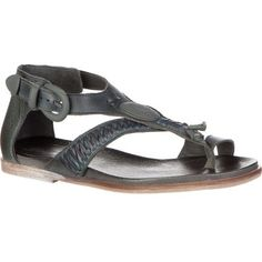 Sure, the Free People Women's Lone Star Sandal looks great when you're relaxing on the beach, but this leather sandal begs to be paired with a skirt or jeans when you're spending your weekend at an outdoor music festival, too. Inspired by vintage western belts, the Lone Star is made in Spain with an accented leather upper and powder-coated metal buckle for a classic look and feel.