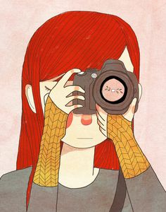 Behind The Lens  by Nan Lawson