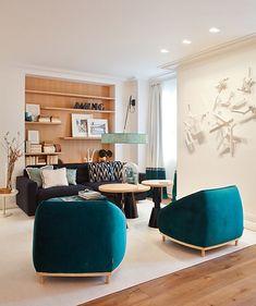 Casa Decor Madrid | Living designed by Marisa Gallo.