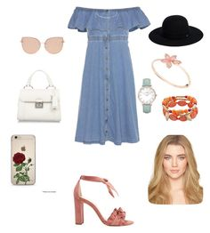 """""""Summer vibezzz'"""" by sarrabaccouch on Polyvore featuring Alexandre Birman, Tommy Hilfiger, Miu Miu, Topshop, Siggi, CLUSE and Charlotte Russe"""