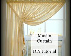 swag curtains – Etsy