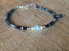 A personal favourite from my Etsy shop https://www.etsy.com/no-en/listing/555601028/lovely-bohemian-sapphire-and-opal