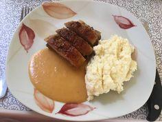 Narancsos kacsa vajszósszal Pesto, Mashed Potatoes, Ethnic Recipes, Food, Whipped Potatoes, Smash Potatoes, Essen, Meals, Yemek