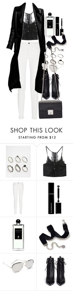 """""""Untitled #9410"""" by nikka-phillips ❤ liked on Polyvore featuring ASOS, Proenza Schouler, Givenchy, Serge Lutens, Sweet Romance, Linda Farrow, Sergio Rossi and Dolce&Gabbana"""