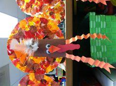 Turkey craft for preschool or any age!