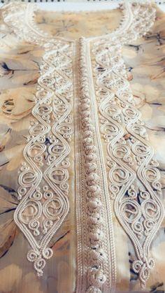 Caftans, Dress Sewing Patterns, Embroidery, Detail, My Style, Handmade, Design, Caftan Marocain, Caftan Dress