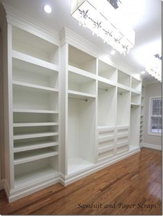 White Closet Other Side. Narrow Hanging Space.