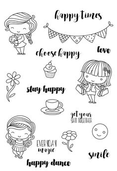 Hey, I found this really awesome Etsy listing at https://www.etsy.com/au/listing/482624222/happiness-clear-stamp-set-decorative