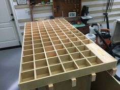 Assembly Table with Torsion Box