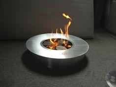 Instinct Bio Fires - Round Smokeless Fire Pit Burner, $660.00 (http://www.ethanolheaters.com.au/outdoor-heating/round-smokeless-fire-pit-burner/)