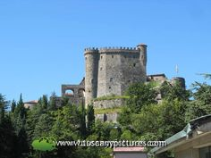 Castle of Fosdinovo. Tuscany, Lunigiana: A territory in the farthest northwestern corner of Tuscany bordering with the southern end of the Liguria region offering numerous castles and enchanting medieval villages.