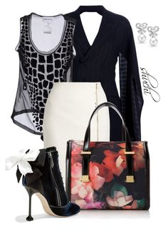 Time to Bow! by shuchiu on Polyvore featuring Emilio Pucci, Jean-Paul Gaultier, MaxMara, Miu Miu, Ted Baker, Bling Jewelry