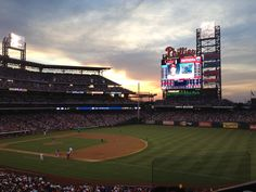 Phillies stadium, Philadelphia.  Went to 2 games during the 1982 season and got to see Pete Rose play!