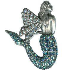 Mermaid Angel Pin