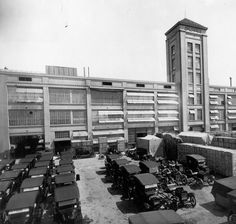 The first Ford assembly plant in La Boca, Buenos Aires, c. 1921 Source