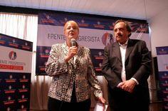 Con Ricardo Alfonsín