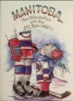 68 Ideas For Gifts Illustration Logo Jets Hockey, Ice Hockey Teams, Hockey Stuff, Hockey Players, Funny Hockey Memes, Hockey Quotes, Canada Funny, O Canada, Canadian Horse