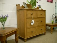 BEAUTIFUL VERY LARGE SOLID PINE CHEST DRAWERS WITH 4 DRAWERS QUALITY THROUGHOUT  http://www.drabtofabfurniture.co.uk/non-painted-furniture/