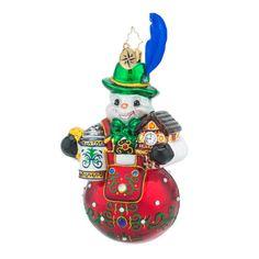 Christopher Radko Ornament - Bavarian Frost