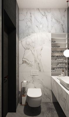 An accumulation of our favorite master bathroom suggestions! Grab tricks and tips to produce your dream master bathroom! Curated by Rebekah Dempsey of A Blissful Nest. Bathroom Design Luxury, Bathroom Layout, Modern Bathroom Design, Modern Interior Design, Bathroom Ideas, Bathroom Organization, Bathroom Designs, Modern Toilet Design, Budget Bathroom