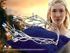 Galadriel Headdress Product Detail if i can talk my husband into it, i'm wearing this when i get married