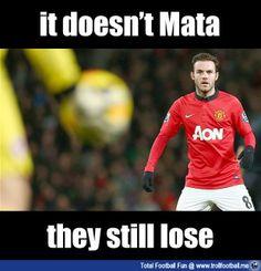 It doesn't Mata ...United still lost : http://www.trollfootball.me/display.php?id=20104  #football #soccer #Trollfootball #SoccerMemes #ManUtd #ManchesterUnited #Mata