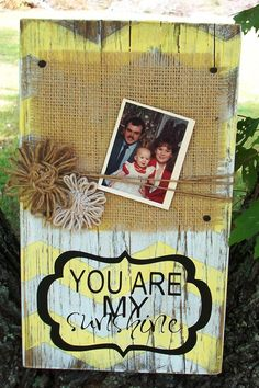 Wood Block Photo Holder with chevrons and by craftigirlcreations