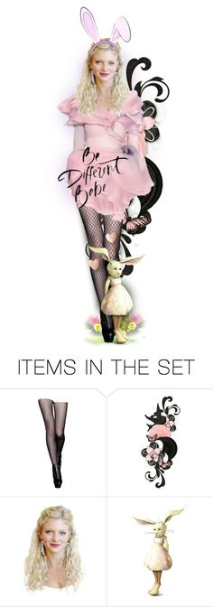 """""""Be Different Babe"""" by girlyideas ❤ liked on Polyvore featuring art"""