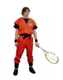 Rafa's new apparel!