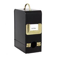 Vinbox 3 liter - svart mässing f5a3f04af2f37