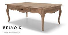 Belvoir Storage Coffee Table in natural ash | made.com