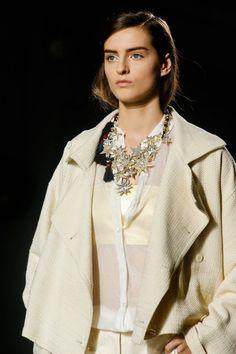 Dries van Noten Primavera/Verano 2014 #PFW star necklace collar estrellas