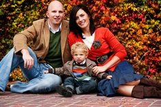 family photo - fall colors