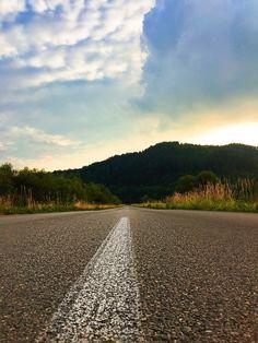 sunny road 🌸🌸