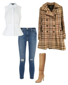 """Autumn/all style"" by style-stakka on Polyvore featuring Sigerson Morrison, Frame Denim, Alexander Wang and Burberry"