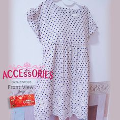 Polka Long Top (DKO-27W320)  Free Size Colour (Quantity):- Beige (1); Cream (2)  Clearance Price now $25 (BIG LOSS) Usual Price $79 (exclude postage) Original Retail Price: $149  You can buy it at our website! More info at http://theaccessories.co/product/DKO-27w320/  Like us at https://www.facebook.com/tiramisuboutiquesg  #TiramisuBoutique #Singapore #Yishun #CarousellSG #Shopee #Instagram #Pinterest #OnlineSingapore #SingaporeOnline #Dress #Women #Apparel #Korea #Cotton #PolkaDot #新加坡