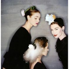 Elsa Martinelli top left in Balenciaga by Clifford Coffin #style #fashion #1950s #allure #elegant #sexappeal #model #paris #beauty #glamour #fashionphotography #vintagestyle #vintagefashion
