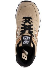 low priced 4dfd8 6ab03 New Balance Women s 574 Seasonal Shimmer Casual Sneakers from Finish Line -  Brown 9.5 New Balance